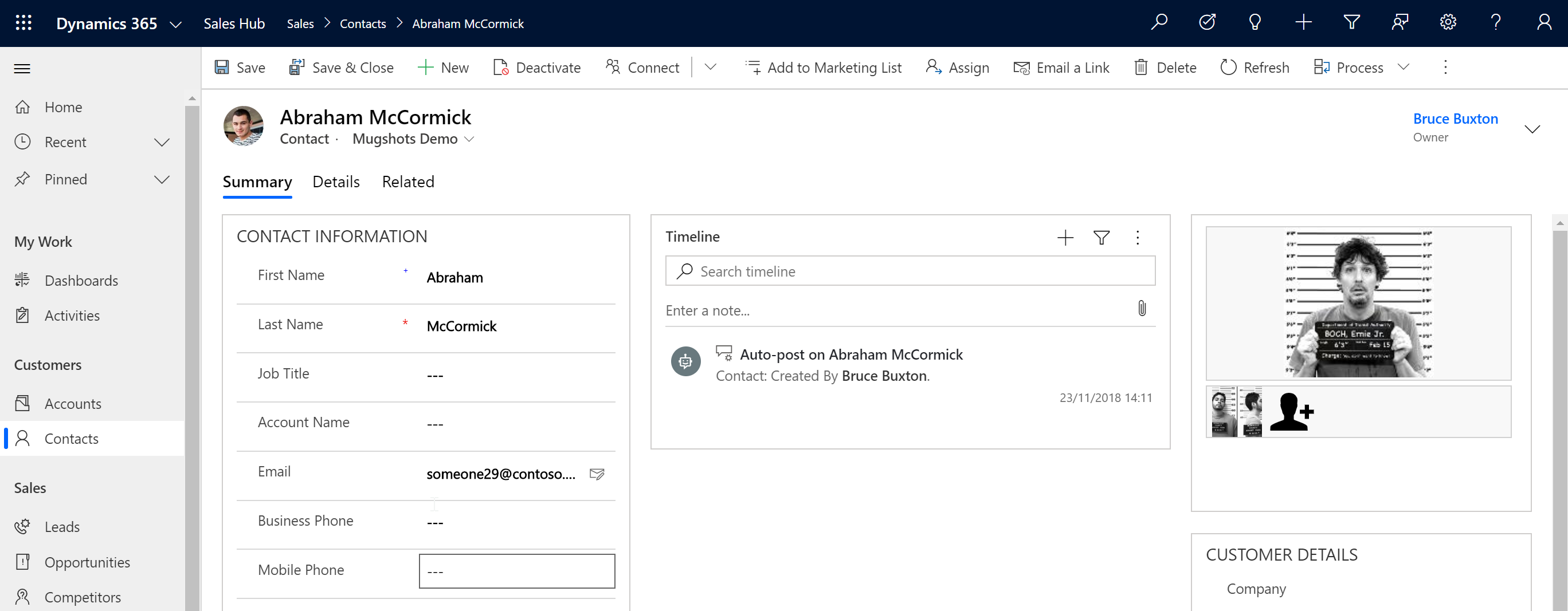 Quick Tile showing Secondary Image - North52 Business Rules Engine for Microsoft Dynamics 365