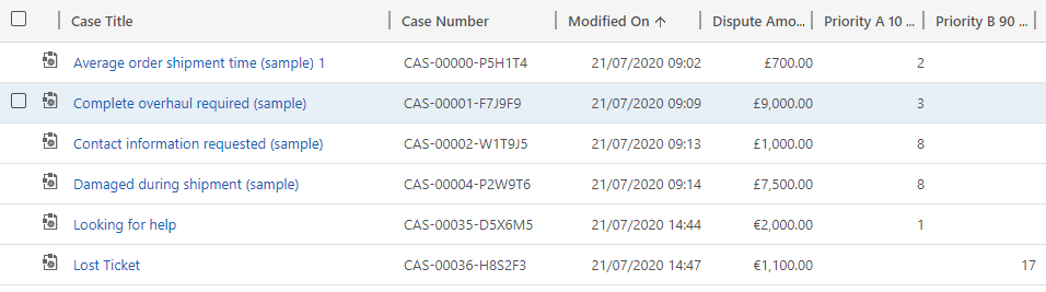 Priorities being assigned as cases are created - North52 Business Rules Engine for Dynamics 365