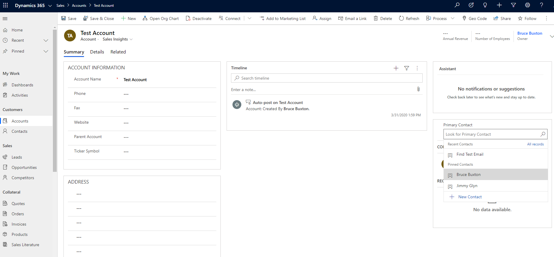 North52 Business Rules Engine for Dynamics 365 - Decision Table
