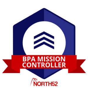 Training Badge - North52 BPA Mission Controller