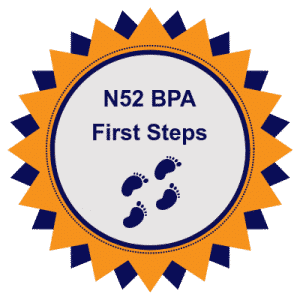 Training Badge - North52 BPA First Steps