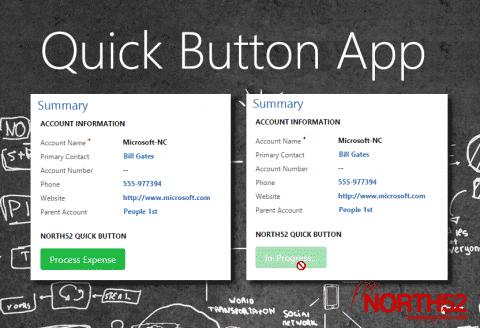 Quick Button App Splash