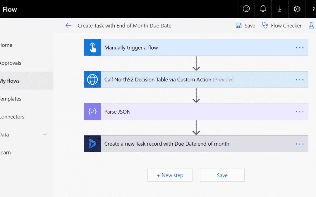 Business Rules Example #231 – Execute a North52 Decision Table as part of a Microsoft Flow using HTTP Azure AD