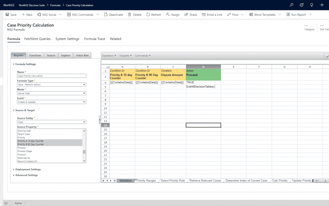 Business Rules Example #266 – Complex Dynamics 365 Case Prioritization Rules