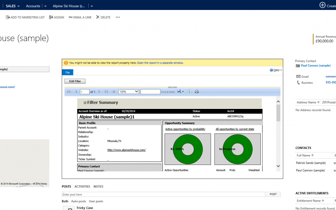 Business Rules Example #053 – Dynamic IFrame Reports